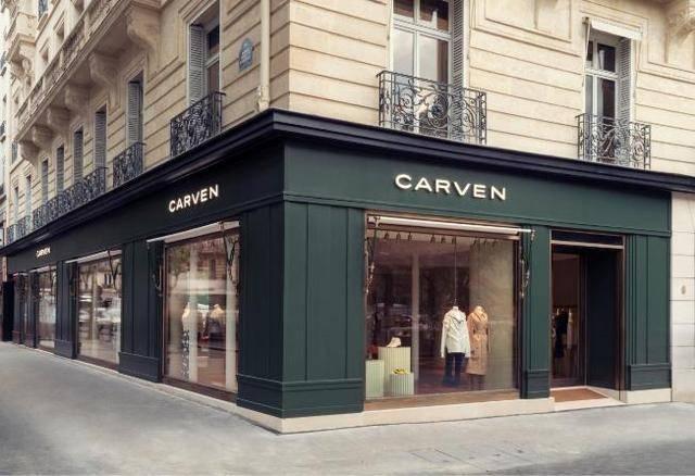 CARVEN卡纷 巴黎香榭丽舍大街圆点广场6号全球概念旗舰店盛大开幕