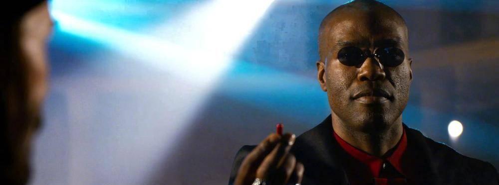 蓝药丸和红药丸,会让你看到不同的《黑客帝国4》预告片