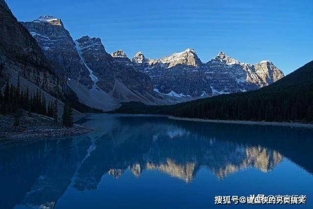 这个地方存在于加拿大境内,论起其中景色,可让人瞬间忘记烦恼