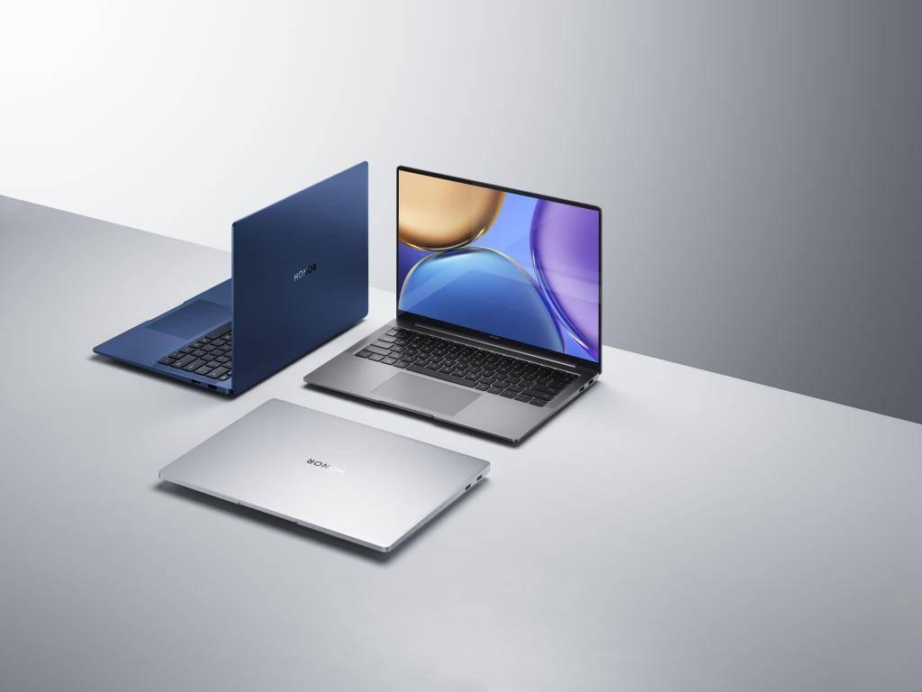 荣耀发布首款英特尔Evo认证笔记本,平板、电视也有新升级