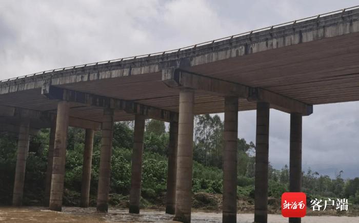 注意绕行!珠碧江大桥三亚到海口方向5#桥墩下沉 约在春节前完成修复
