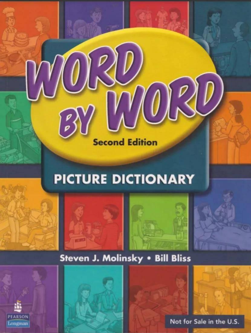 【资源】朗文图解词典《Word by Word Picture Dictionary》,轻松掌握4000+词
