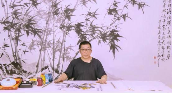 书画家蒋维刚助力全民艺术普及公益课程《国画艺术创作》