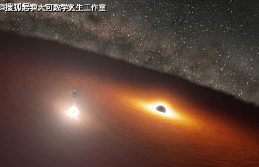 看两颗黑洞在苍穹间共舞,着实的壮观  第1张