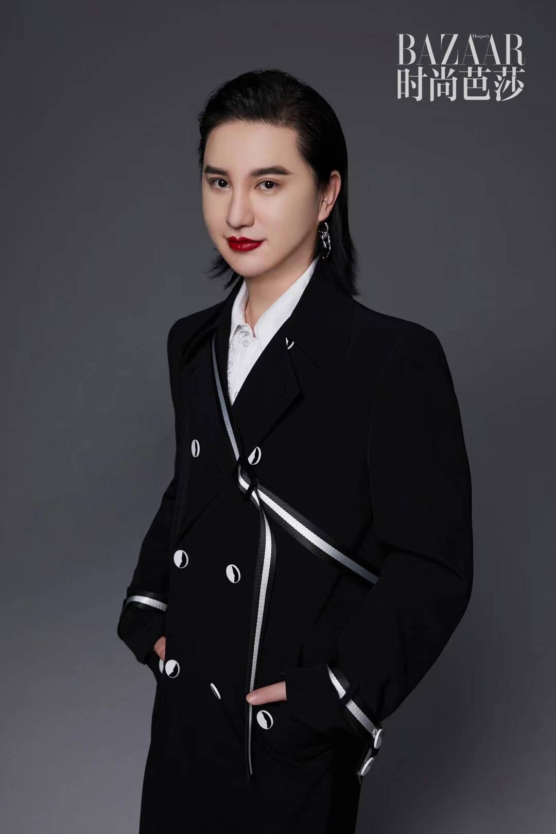 郑善方登上《时尚芭莎》杂志活氣麗品牌明星企业家破圈时尚
