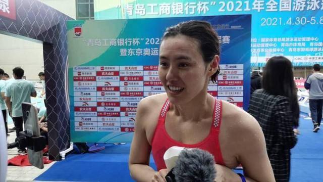 奥运会选拔赛王简·嘉禾、李冰洁、接力赛中冠军刘湘排名第三