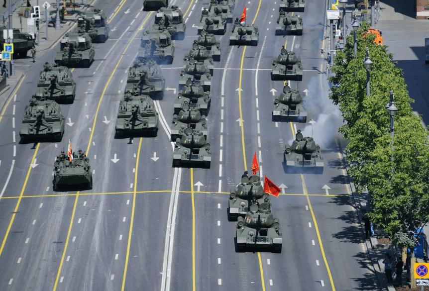 盛图注册俄罗斯举行胜利日阅兵 普京:将坚定维护国家利益