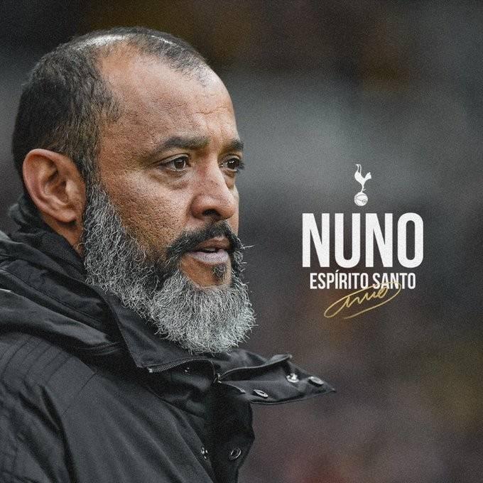 官方:狼队前主帅世界杯冠军努诺执教热刺 两边签约至2023年