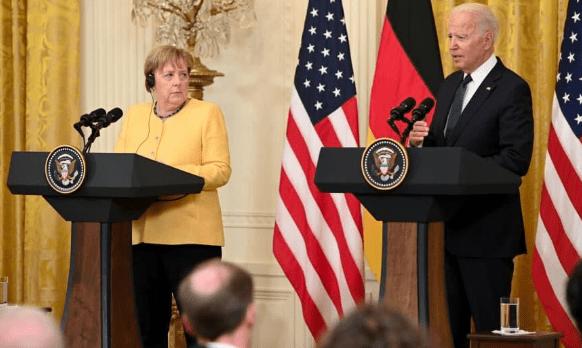 """美媒:美国和德国已就""""北溪2号""""天然气管道项目达成协议 允许其完成建设"""