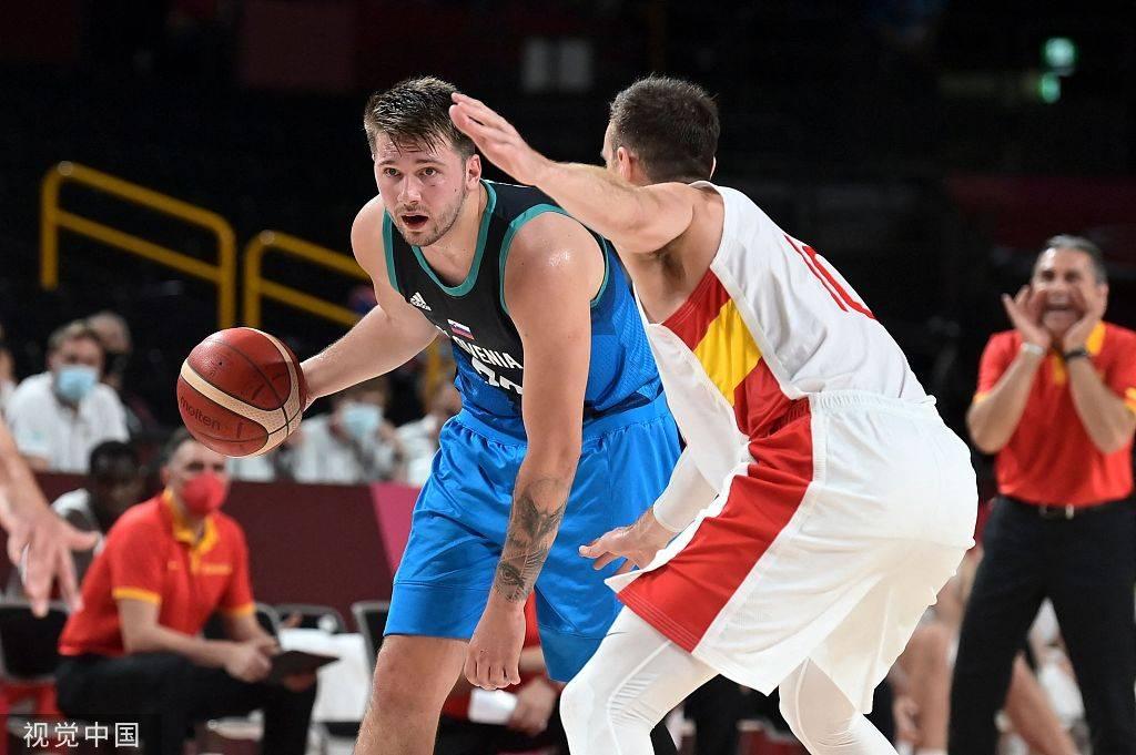 东契奇准三双卢比奥18+9助 斯洛文尼亚险胜西班牙