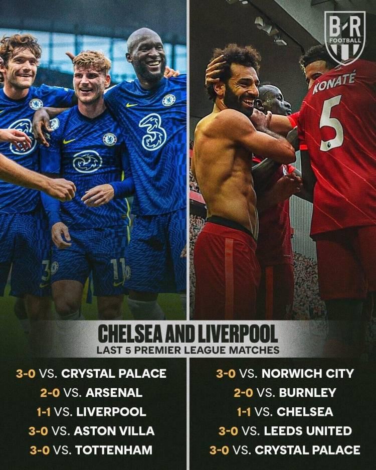 特别的缘分?利物浦和切尔西前5轮每场比分都一样