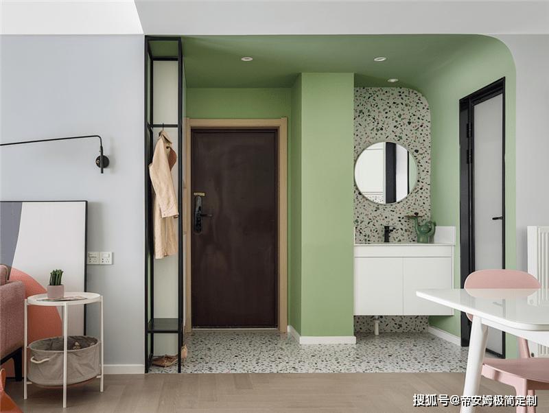 110㎡现代三居,不用黑白灰,打造更清新温暖的家!