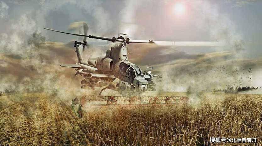 从恶搞到现实,军转民经典之作,米-2武直改行超低空喷洒农药