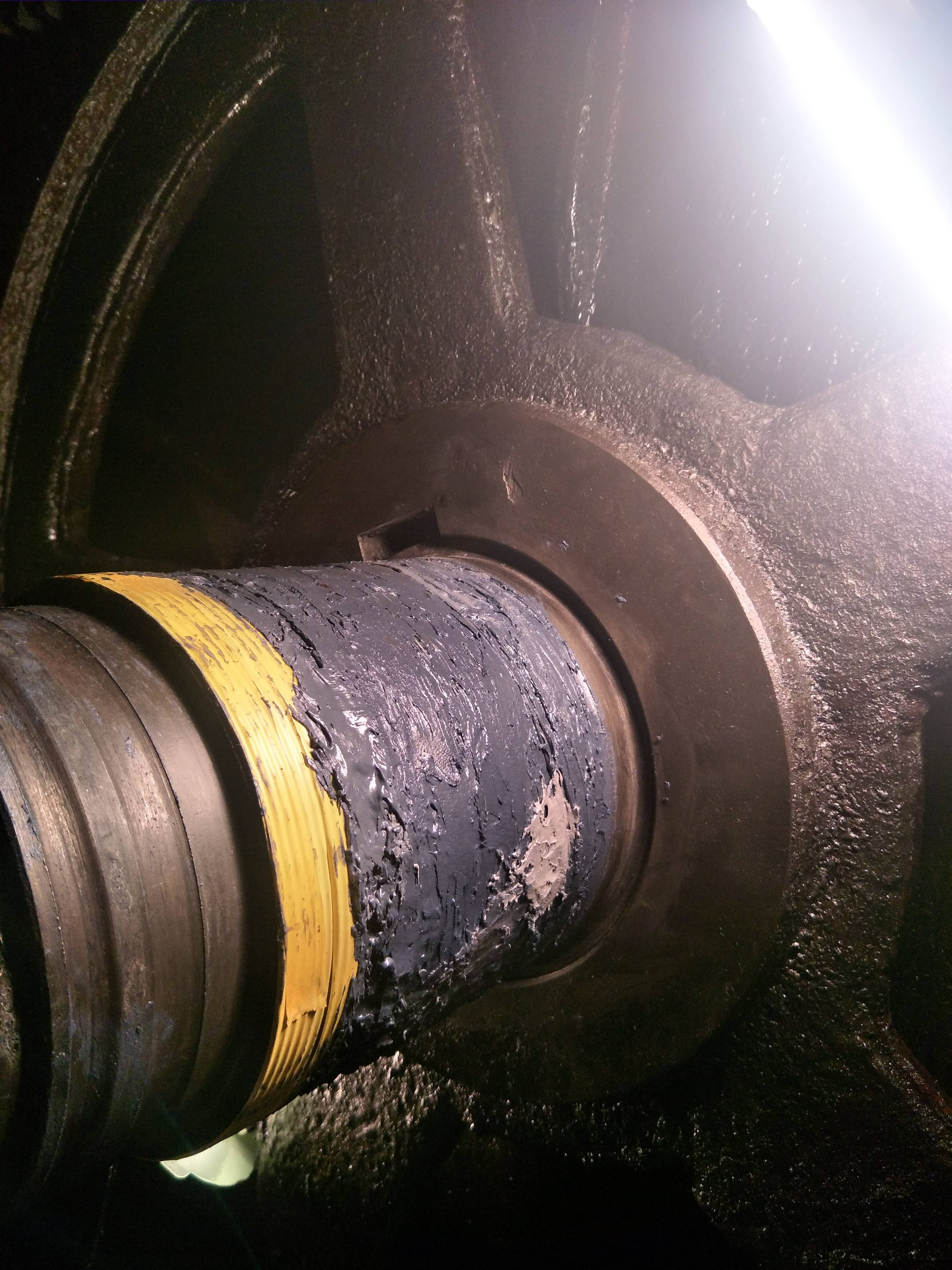 轴承位磨损如何快速修复?
