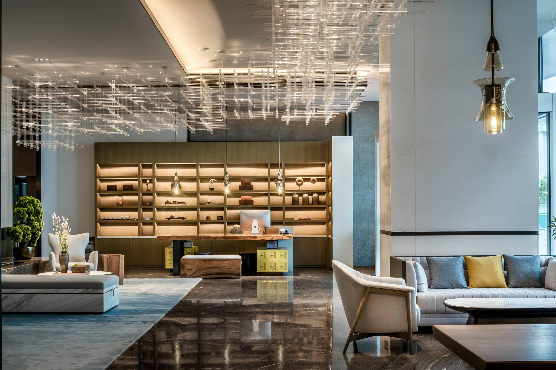 汇格设计丨悦境龙仕翔轻奢酒店
