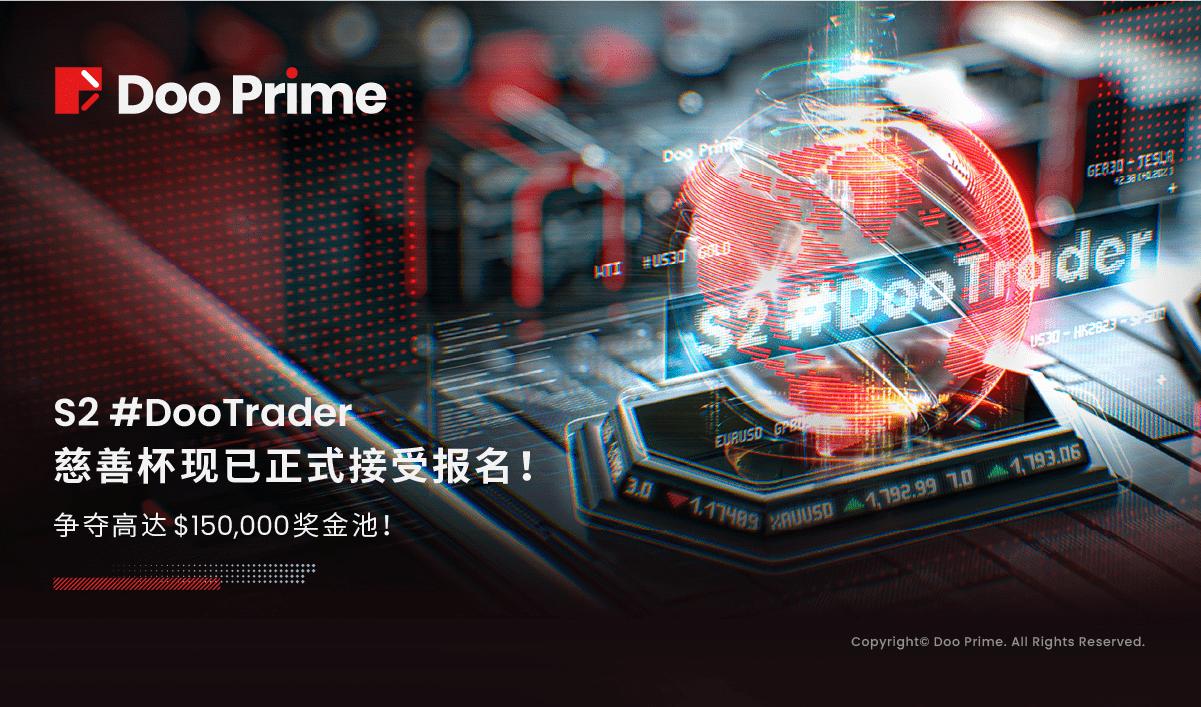 Doo Prime 即将举办第二届 DooTrade 慈善杯—全球交易大赛