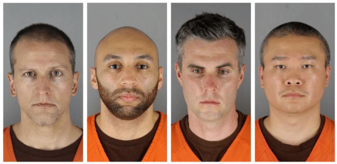 3名涉案警察出庭受审,明尼阿波利斯市市长跪在