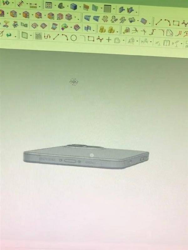 iPhone 12机模曝光:直边框首次回归、继续刘海屏的照片 - 10