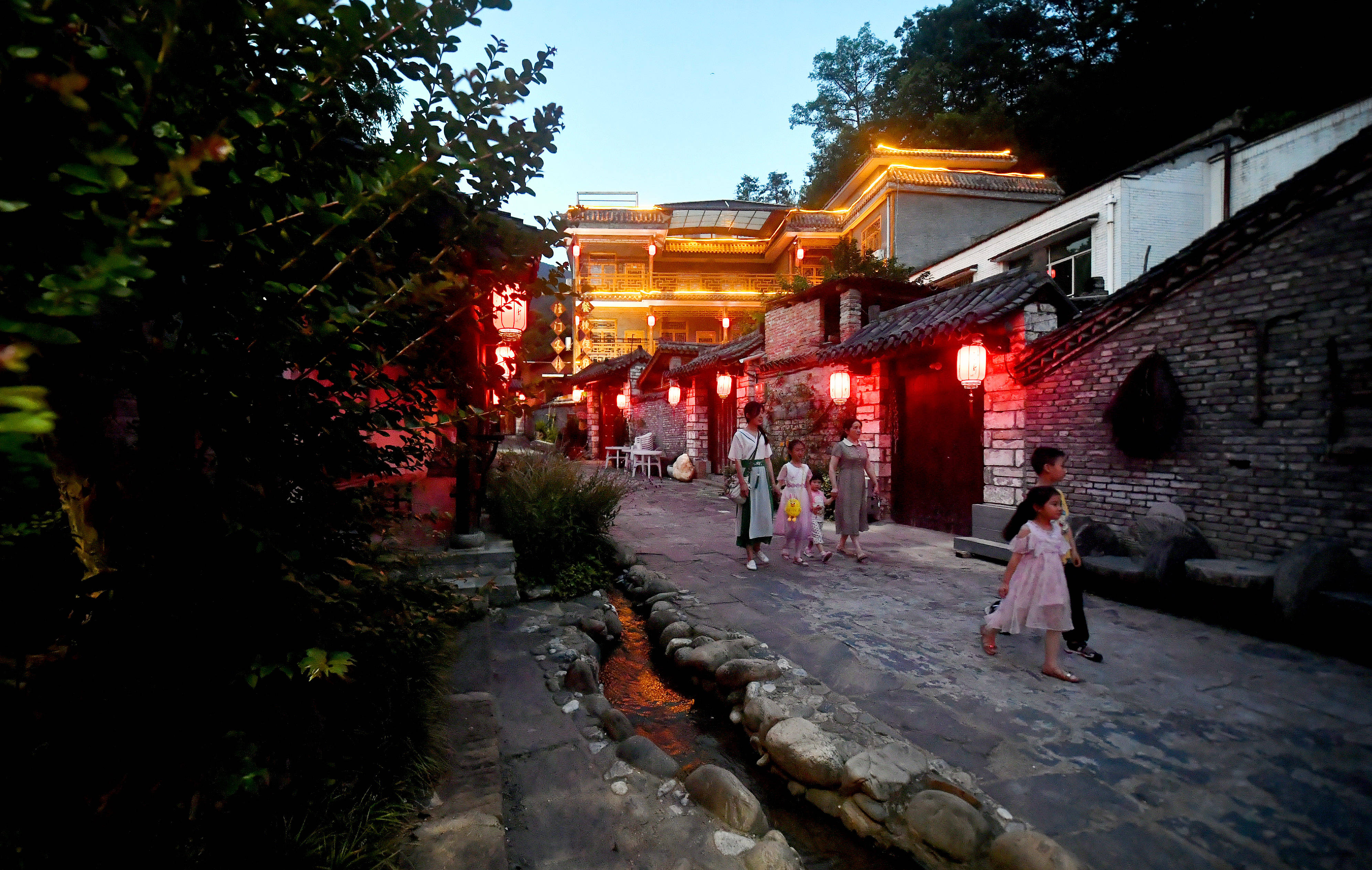 陕西留坝:打造精品民宿 助推经济发展