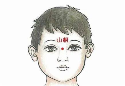 孩子哭,两眼之间有青筋。这是怎么回事?