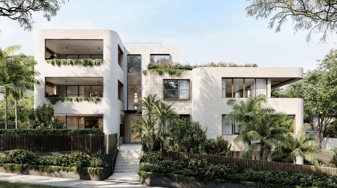 每套公寓都有不同的住宅楼,同样的简单和美丽