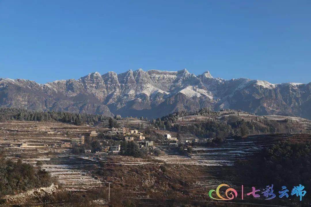 雪后初晴 云南这三座雪山美成了……