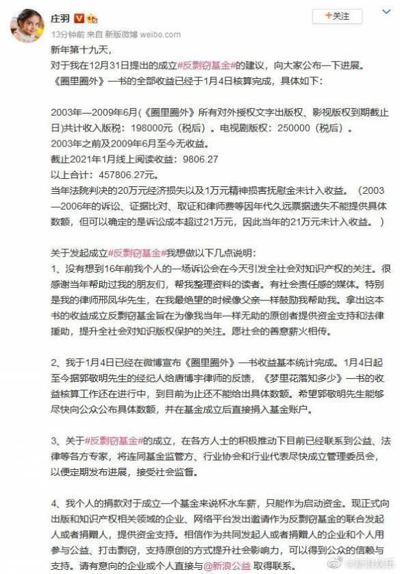 在的诉讼费用已经超过21万:希望京M国尽快公布所有的福利