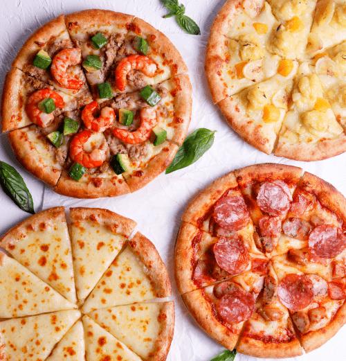 89元抢门市价199元慕玛披萨新年狂欢套餐,前200送水果芝恋披萨 !赶紧抢购吧!