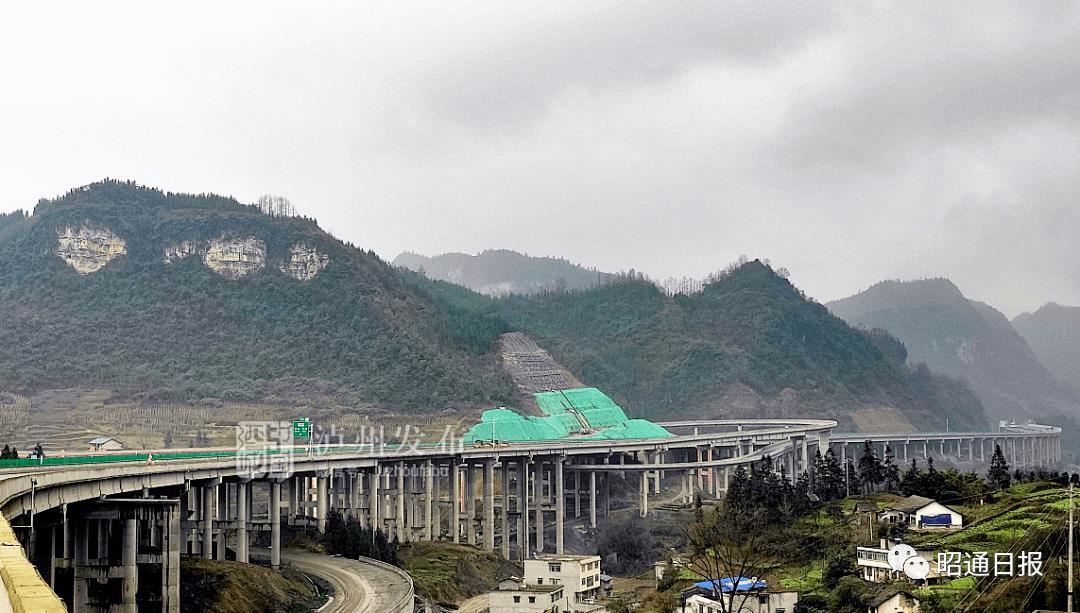 四川至昭通这条高速,预计今年上半年通车!