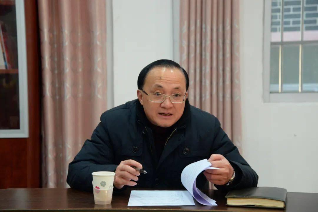 雷应敏到长垌乡现场观摩村党组织换届选举工作