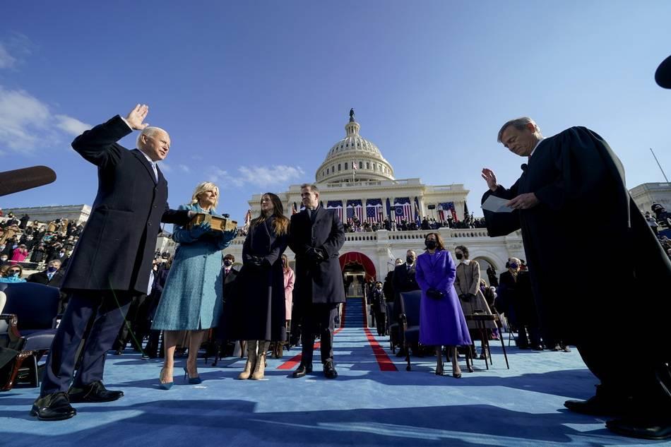 现场直击:拜登宣誓就任美国第46任总统