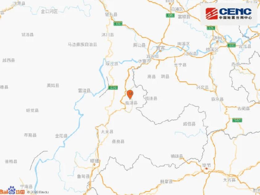 昭通消防全力投入盐津4.7级地震抢险救援工作