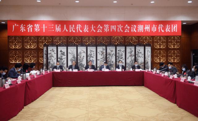 潮州代表团审议省政府工作报告 为全省打造新发展格局战略支点作出更大贡献