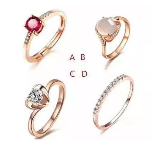 凭直觉选一枚戒指,测出你需要避开和谁谈恋爱!