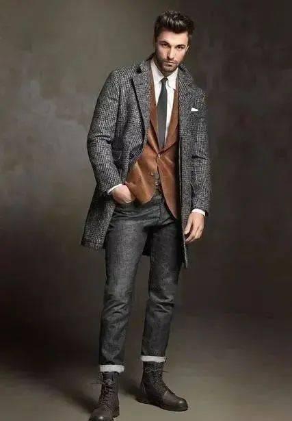 提升男人味必学的'粗糙绅士'穿搭指南 用西装搭出粗犷型男魅力 爸爸 第13张