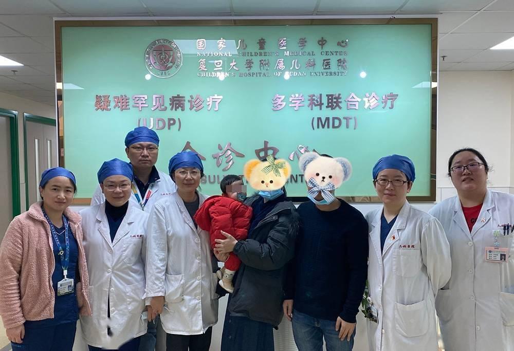 春节前夕 复旦儿科迎来特殊小患儿 20厘米超短肠宝宝首次门诊随访-家庭网