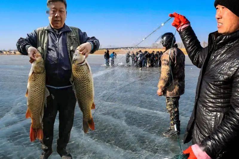 """新春走基层丨浑源农民变渔民,破冰打捞""""致富鱼""""  第3张"""