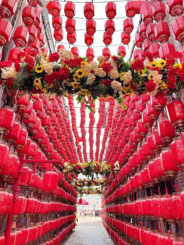 山西省各地张灯结彩迎新春!  第3张