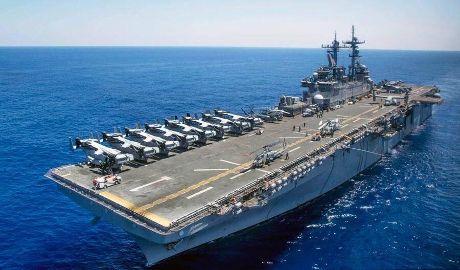 美军准航母上1名水兵死于新冠 本月美海军已有3例死亡病例