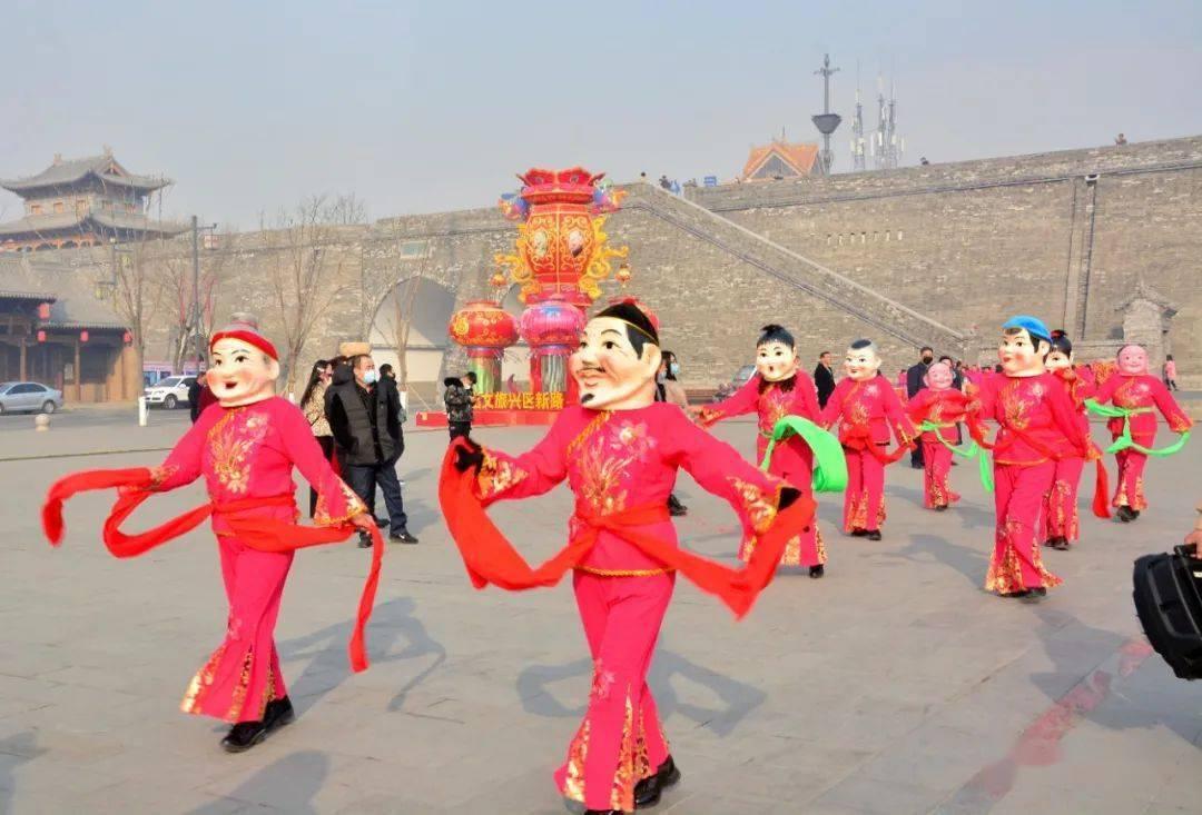 中国年在忻州:忻州古城真红火  第7张