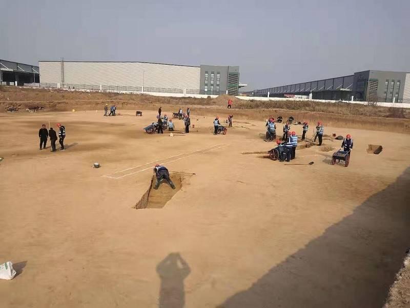 西安咸阳机场扩建发现3500余座古墓,秒变考古现场