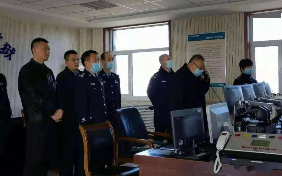 局领导春节期间对基层单位进行检查慰问  第4张