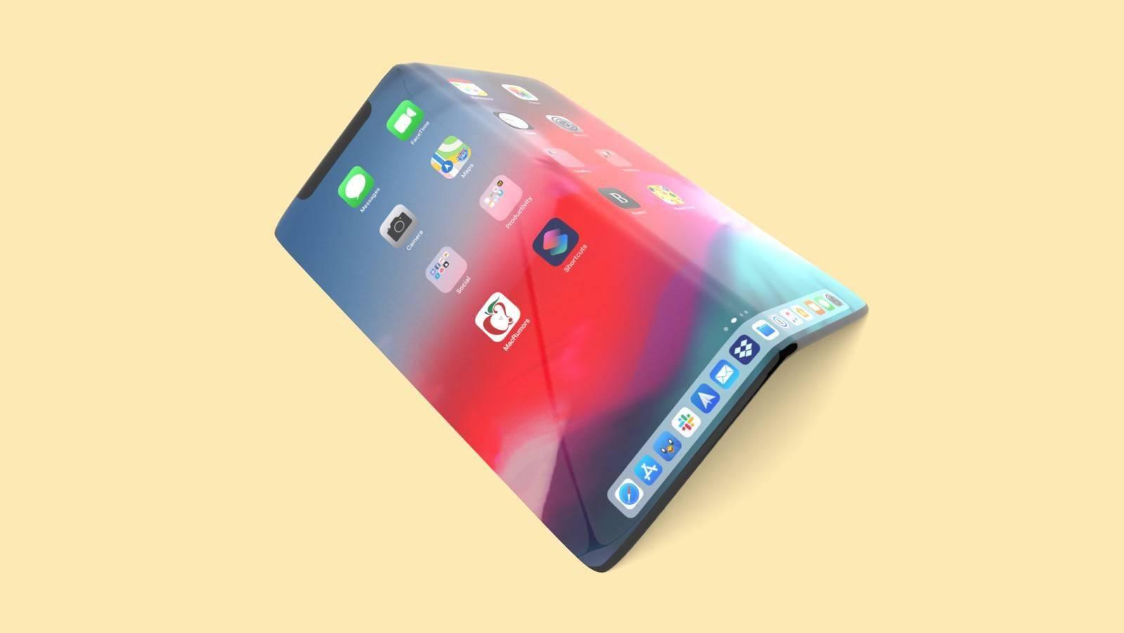 LG Display可能会协助苹果开发可折叠iPhone的屏幕