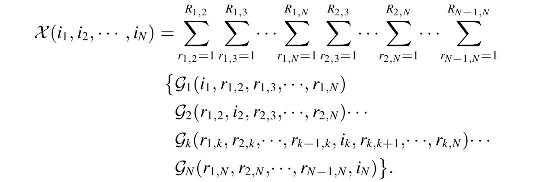 一种新的全连接张量网络分解:突破TT和TR分解的局限性  第7张
