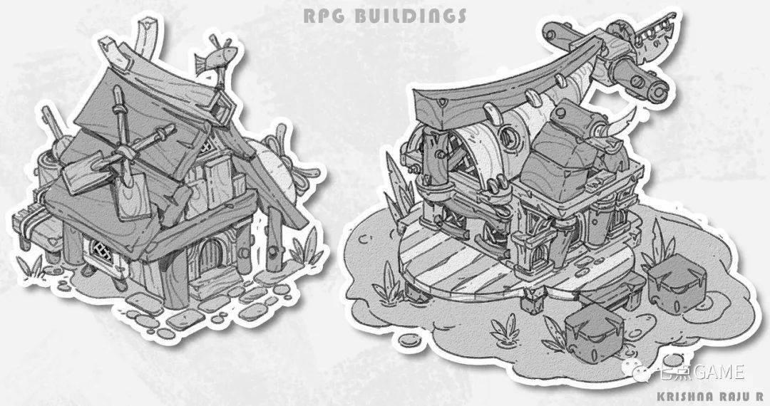 这波头脑风暴很强悍!一组趣味『单体建筑』设计分享-7.GAME