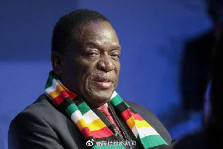 津巴布韦总统9天内5次致谢中国