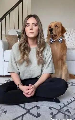假装看不见狗会有什么反应?暖男阿金一个举动让奴才秒破功!