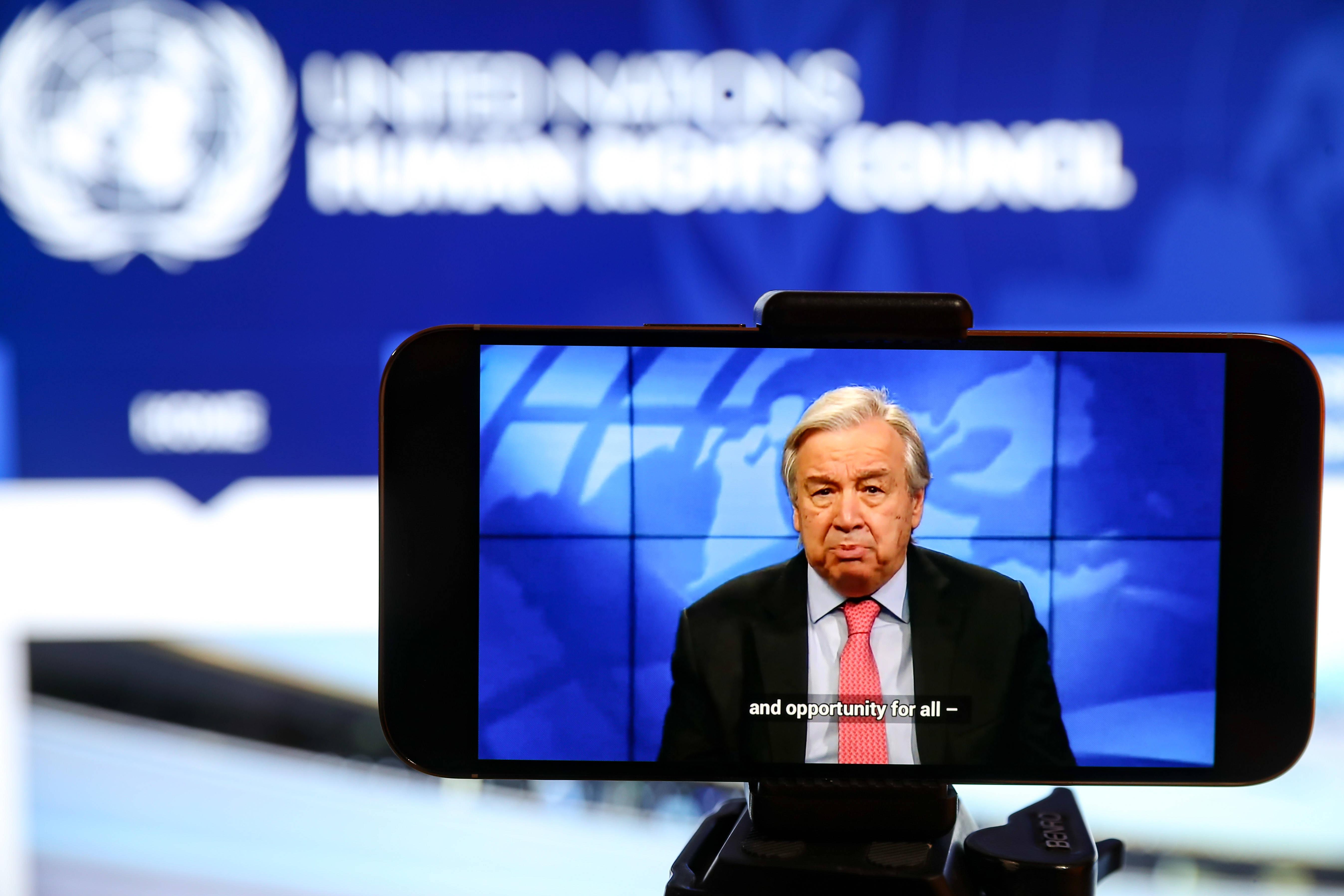 联合国人权理事会第46届会议开幕