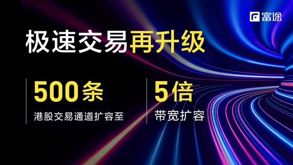 """富途证券港股交易通道扩容150%,""""两车道秒变五车道"""""""