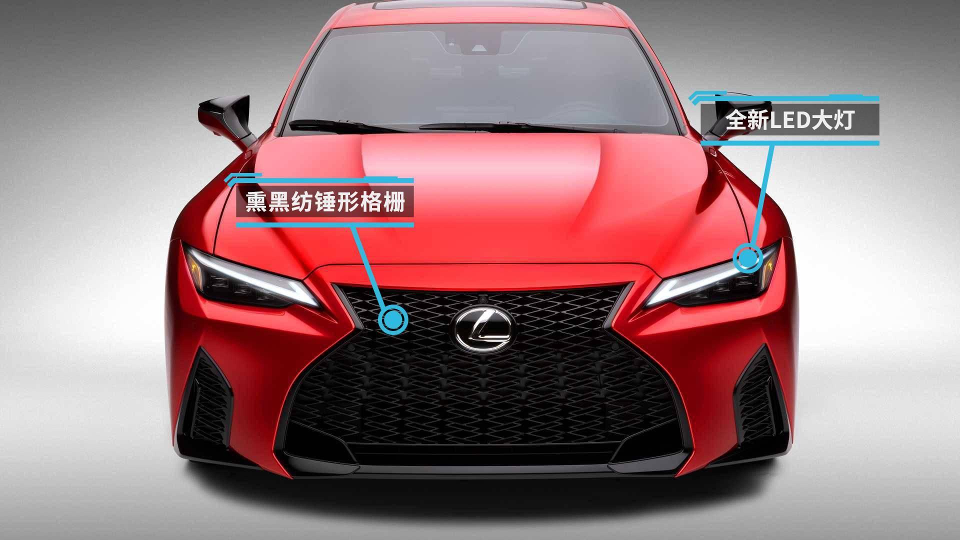 雷克萨斯IS 500原型车发布V8动力/第三季度发布